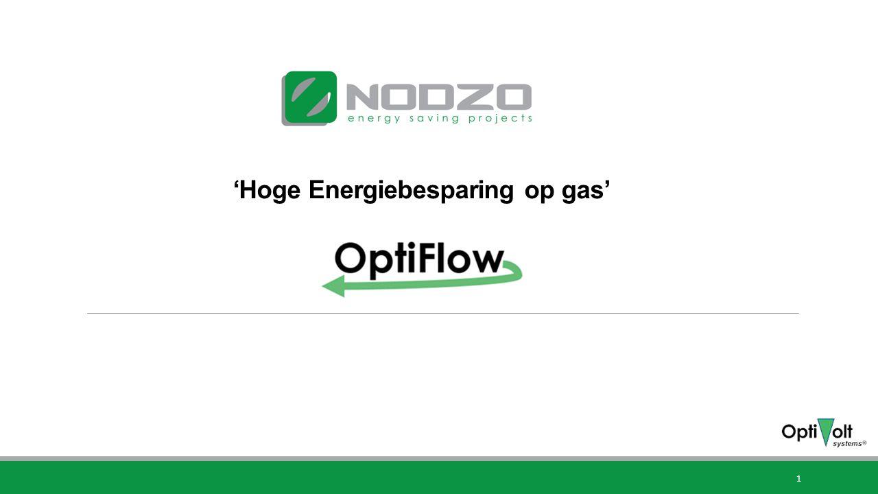 'Hoge Energiebesparing op gas'