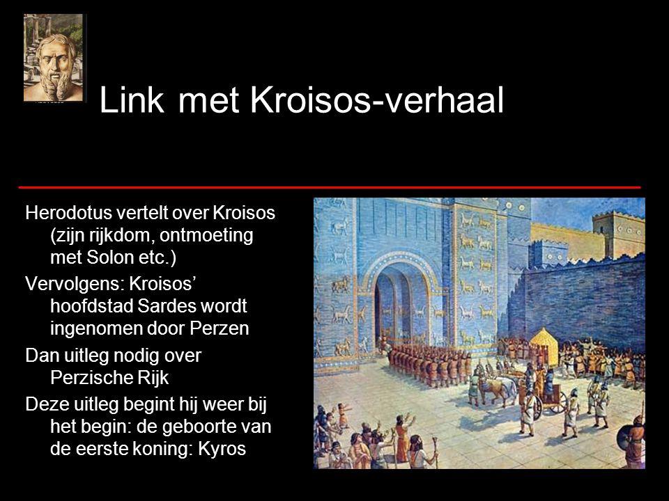 Link met Kroisos-verhaal