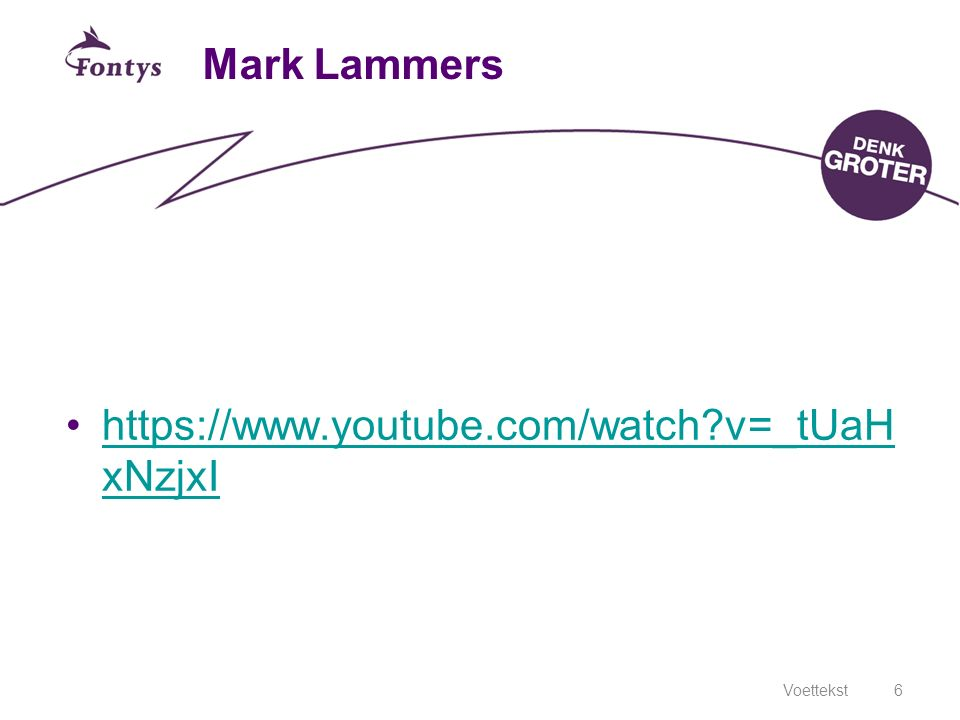 Mark Lammers https://www.youtube.com/watch v=_tUaHxNzjxI 23-4-2017