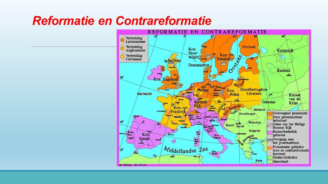 Reformatie en Contrareformatie
