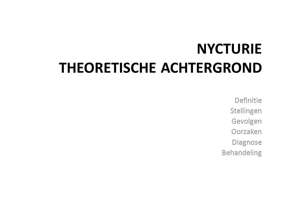 NYCTURIE theoretische achtergrond