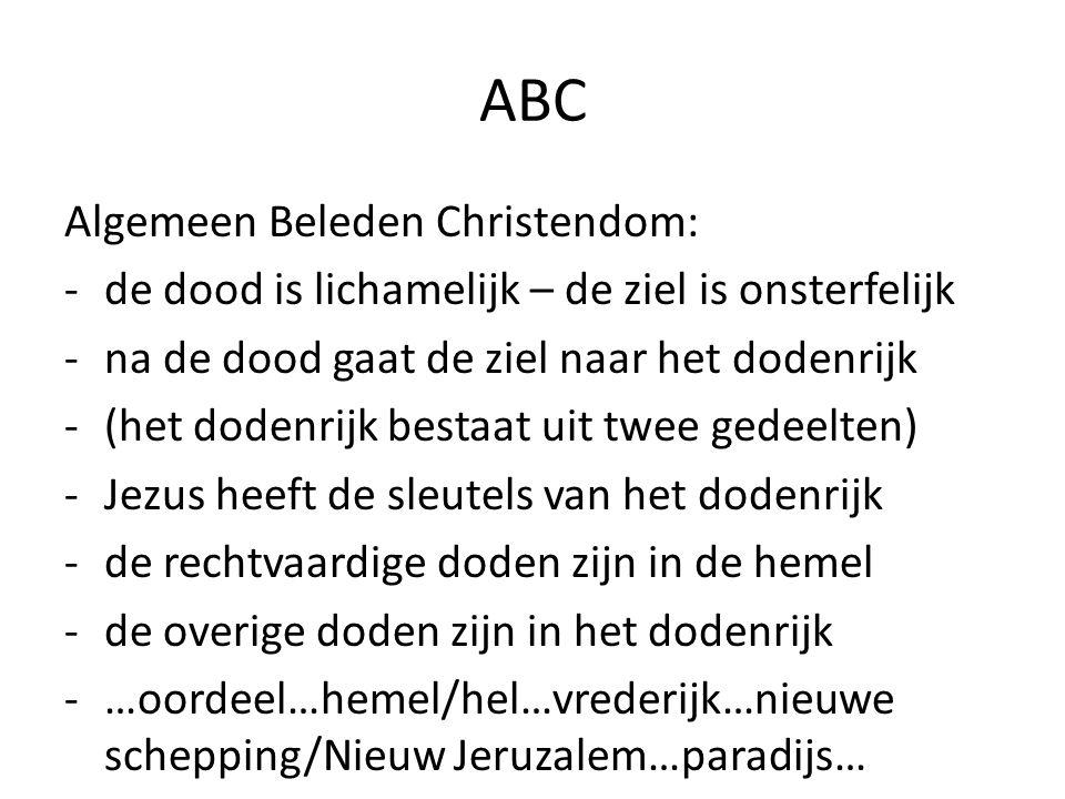 ABC Algemeen Beleden Christendom:
