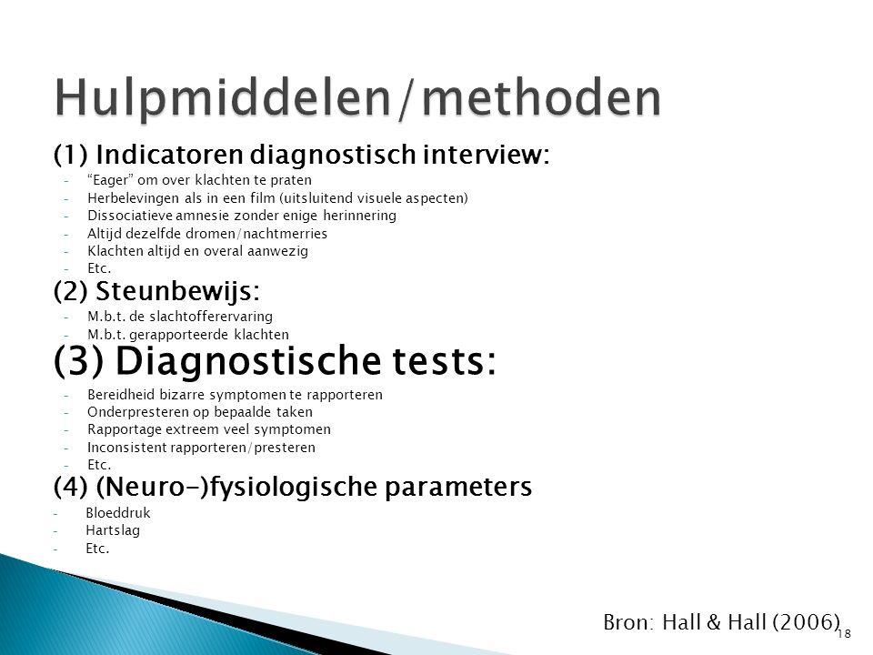Hulpmiddelen/methoden