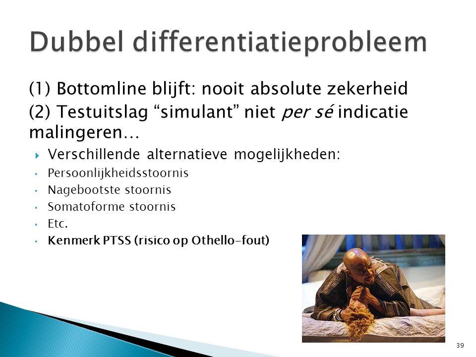 Dubbel differentiatieprobleem