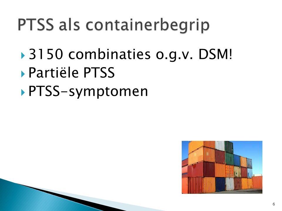 PTSS als containerbegrip