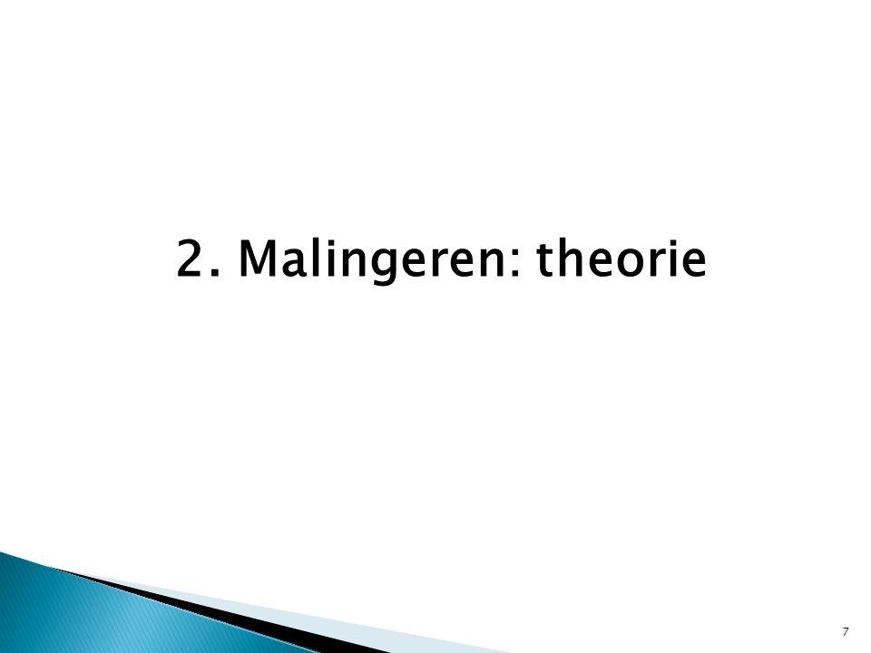 2. Malingeren: theorie