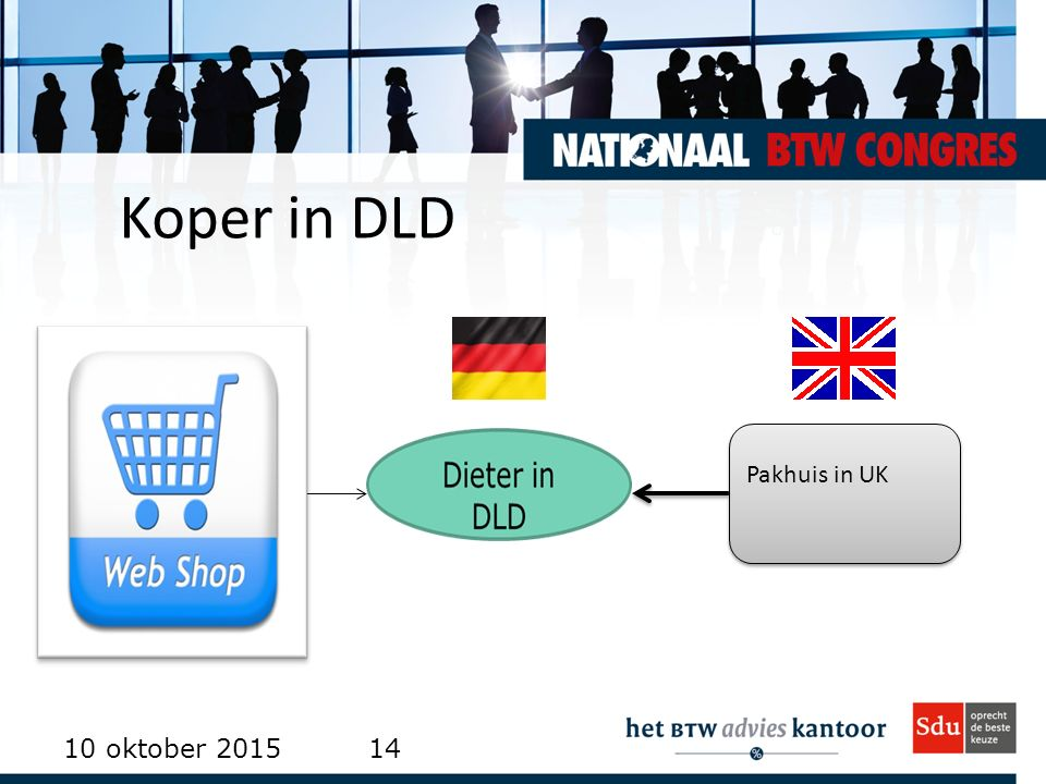 Koper in DLD Pakhuis in UK 23 april 2017