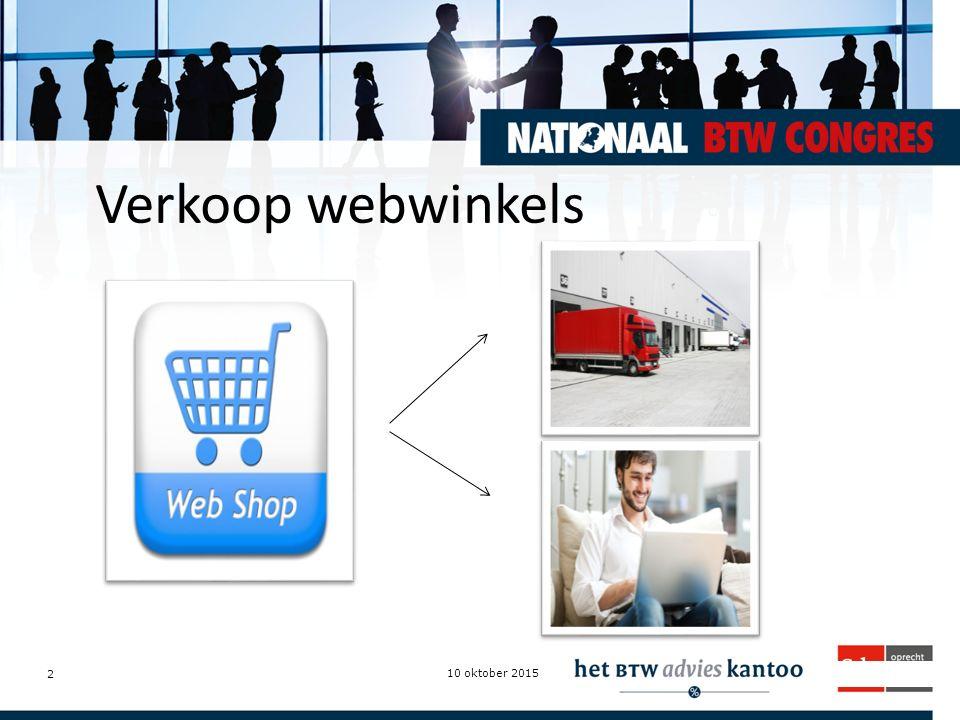 Verkoop webwinkels