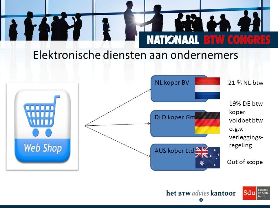 Elektronische diensten aan ondernemers