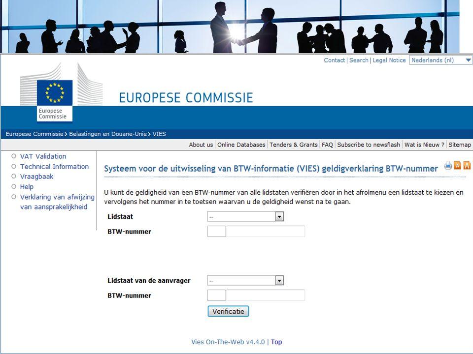 Op de site vd bd staat een link naar betreffende EU-site