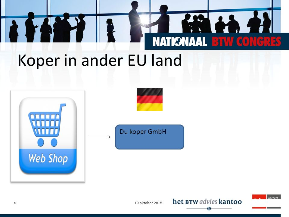 Koper in ander EU land Du koper GmbH