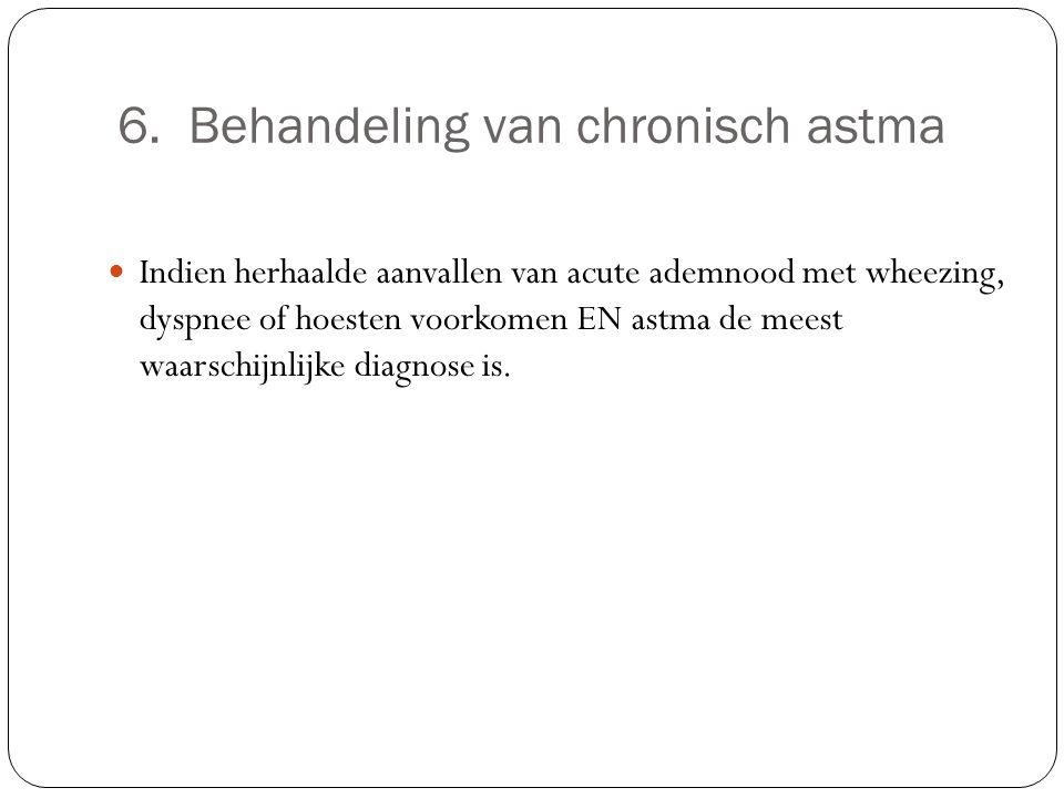 6. Behandeling van chronisch astma