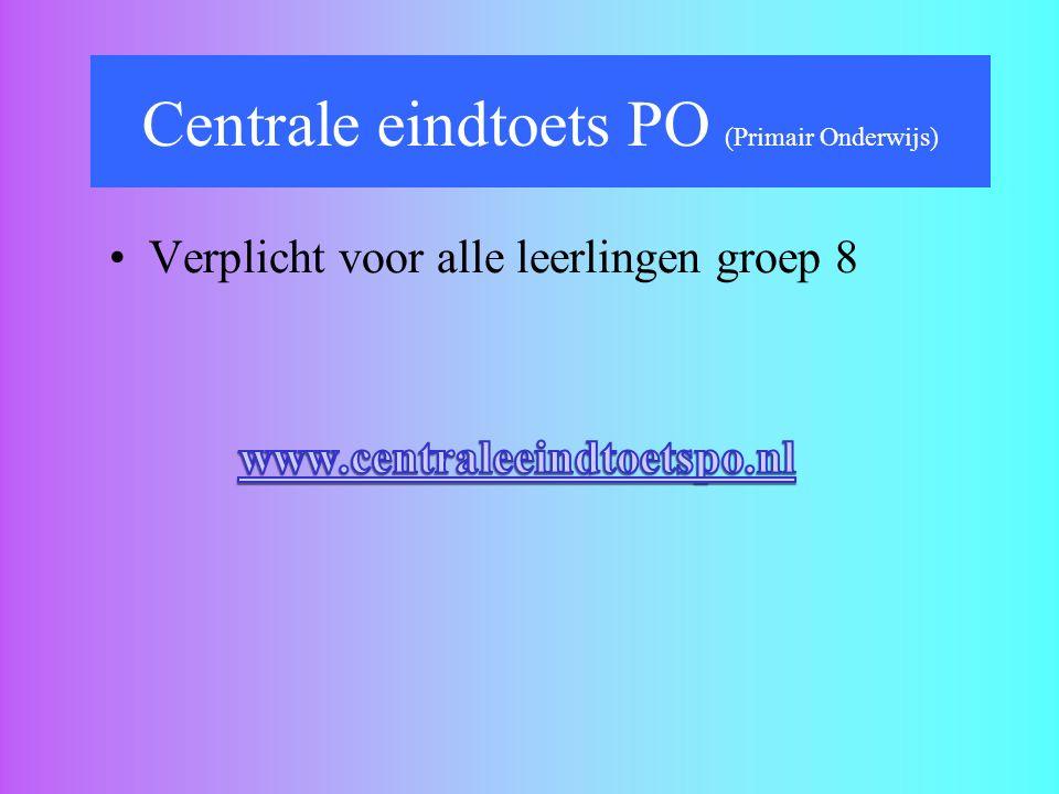 Centrale eindtoets PO (Primair Onderwijs)