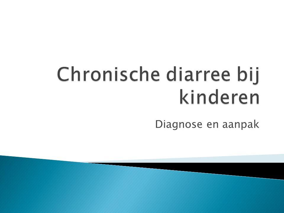 Chronische diarree bij kinderen