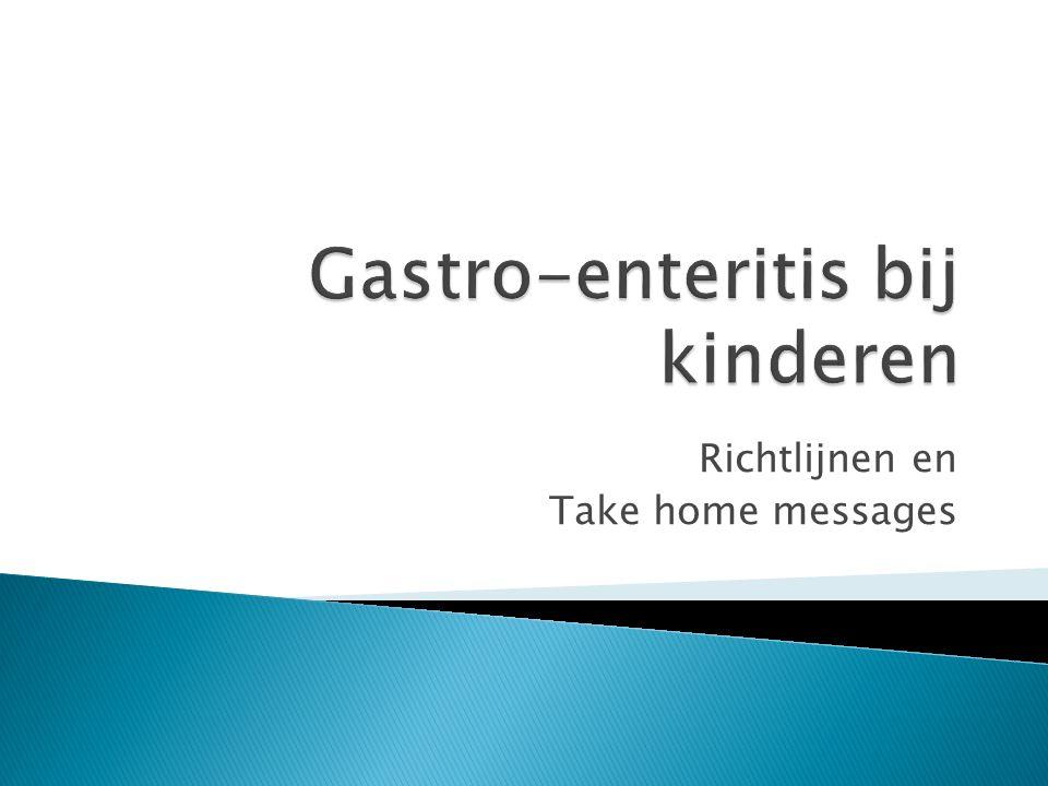 Gastro-enteritis bij kinderen