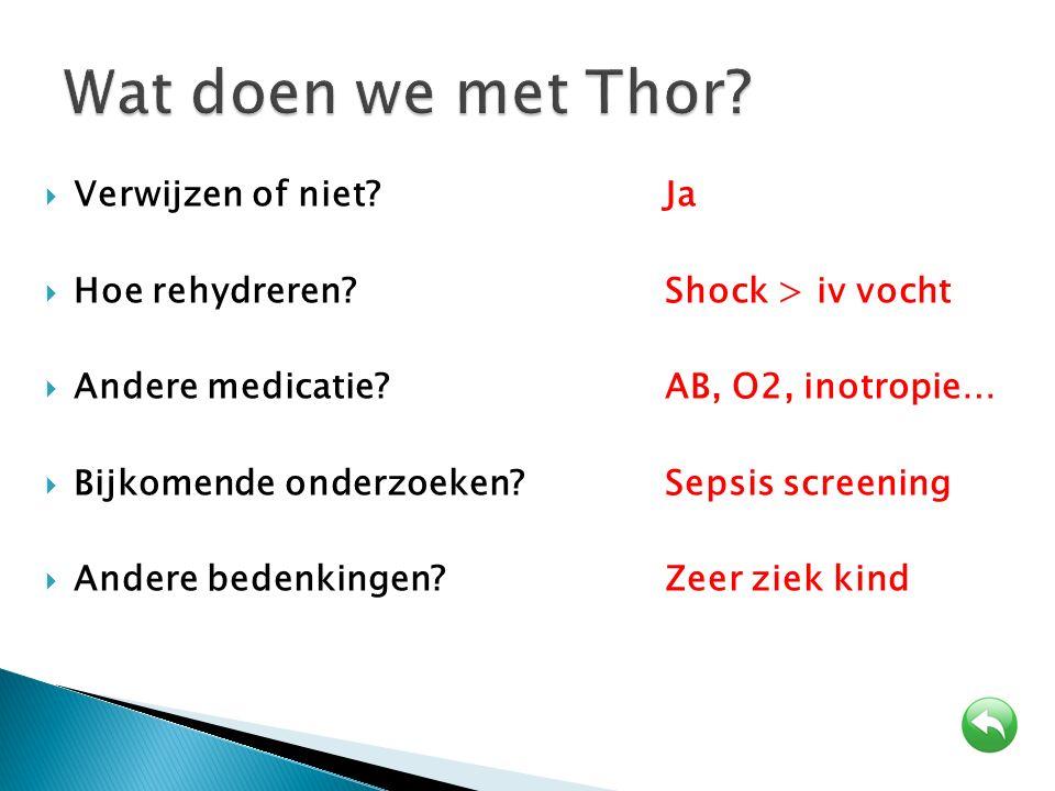 Wat doen we met Thor Verwijzen of niet Ja
