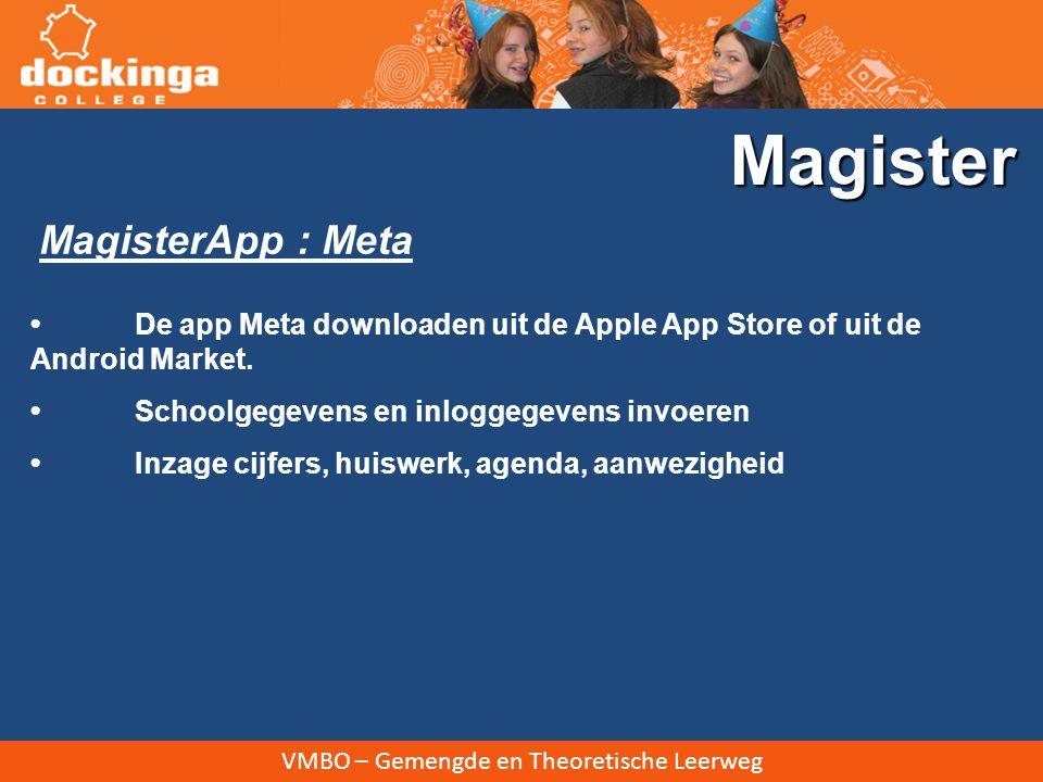 Magister MagisterApp : Meta