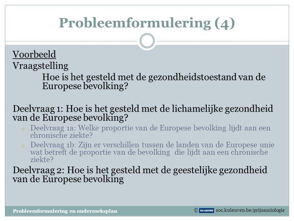 Probleemformulering (4)