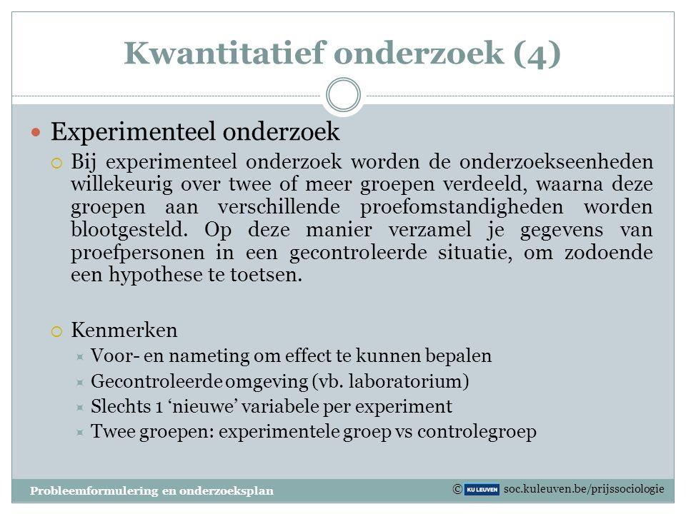 Kwantitatief onderzoek (4)