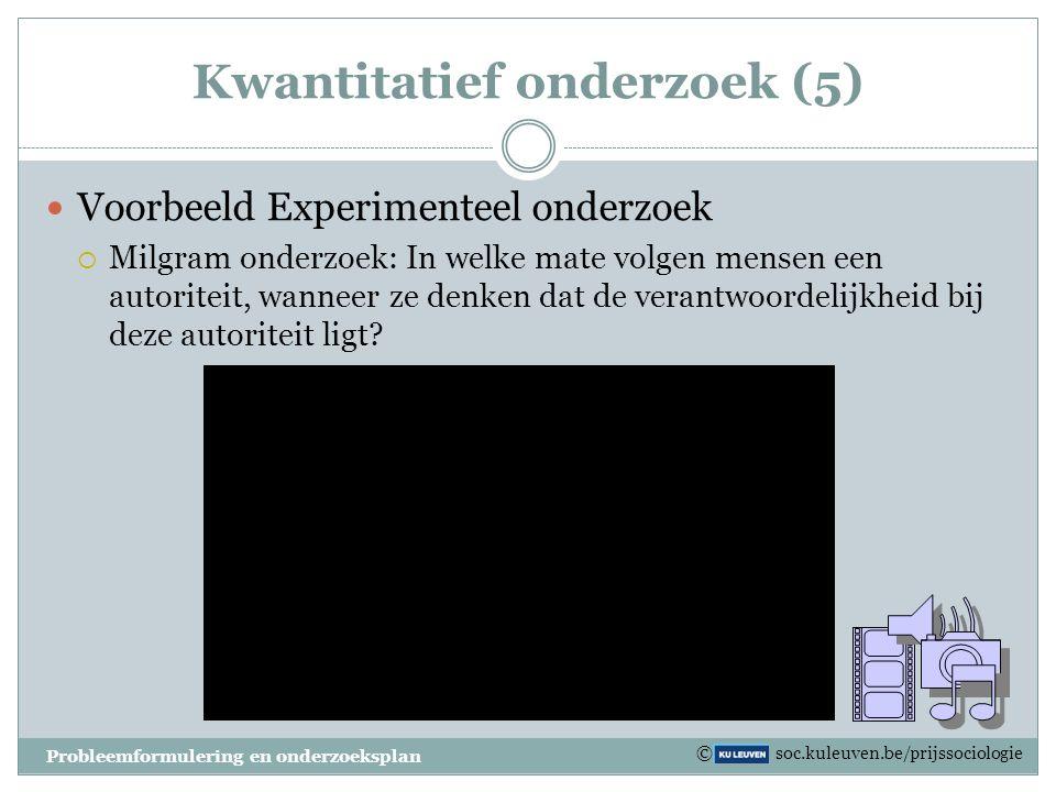 Kwantitatief onderzoek (5)