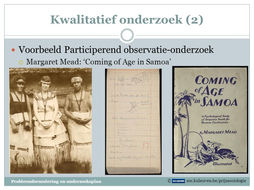 Kwalitatief onderzoek (2)