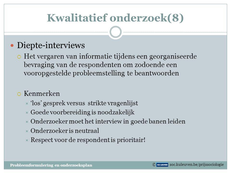 Kwalitatief onderzoek(8)