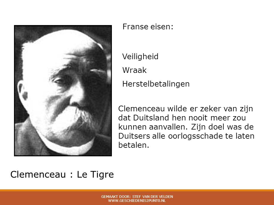 Gemaakt door: Stef van der Velden www.geschiedenis2punt0.nl