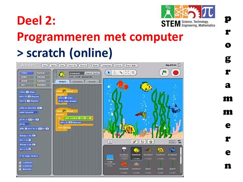 Programmeren met computer > scratch (online)