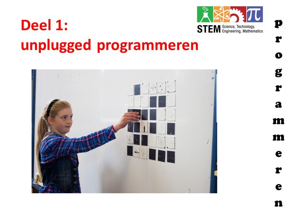 unplugged programmeren