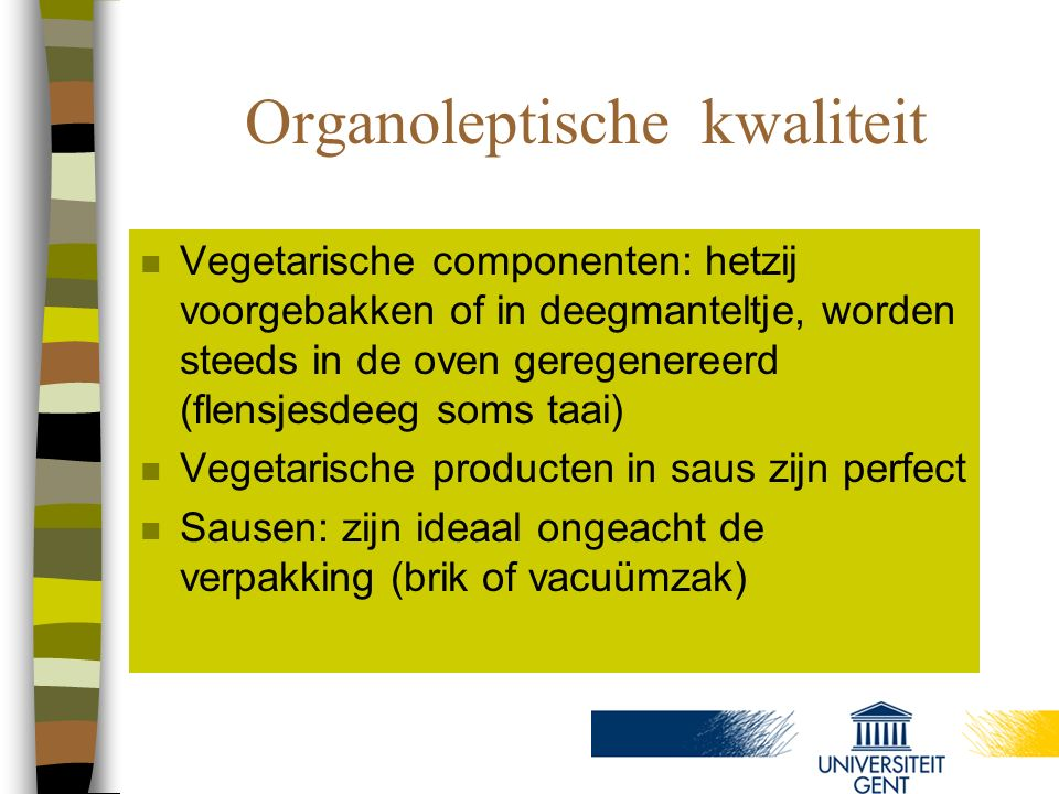 Organoleptische kwaliteit