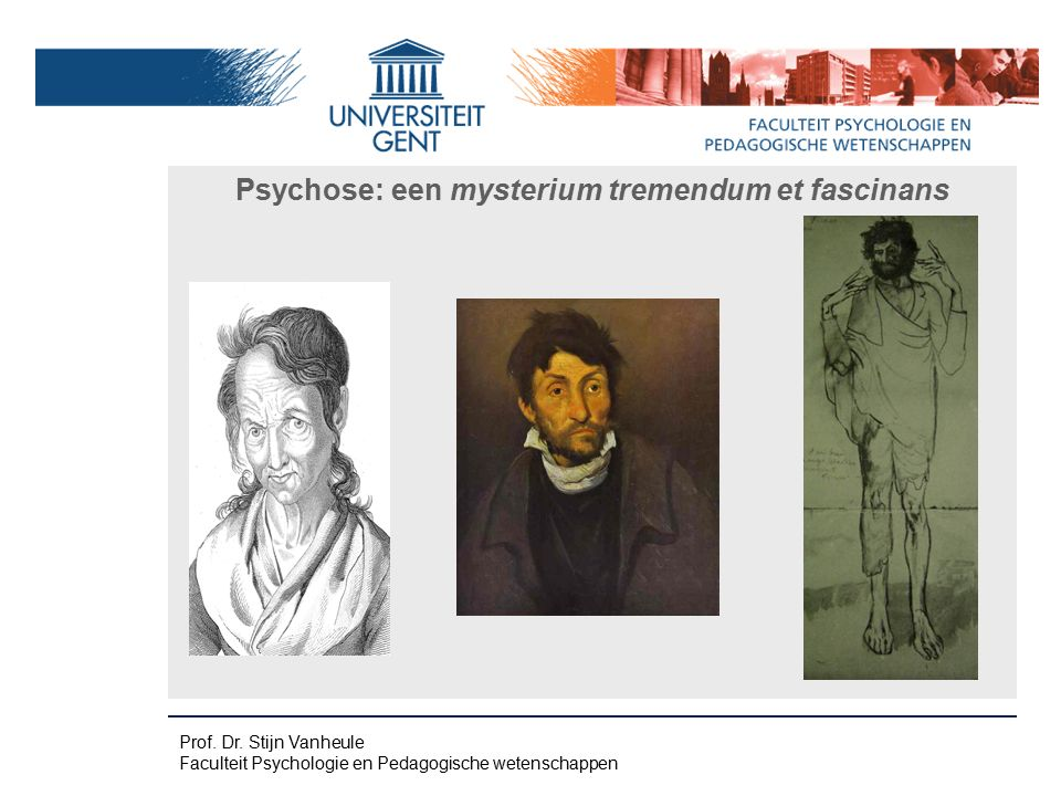 Psychose: een mysterium tremendum et fascinans