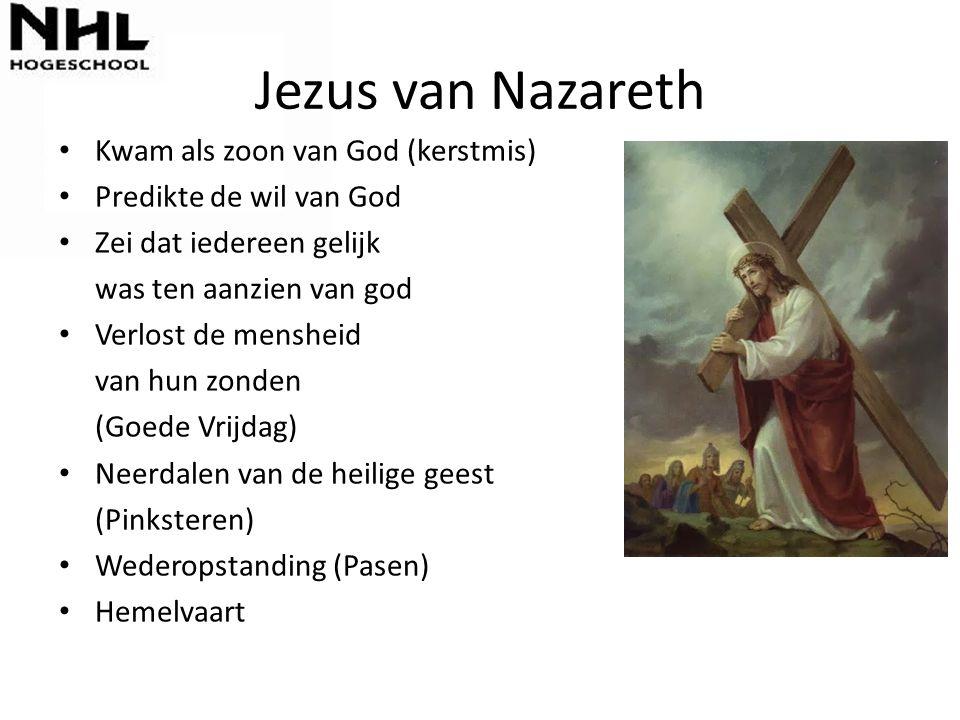 Jezus van Nazareth Kwam als zoon van God (kerstmis)