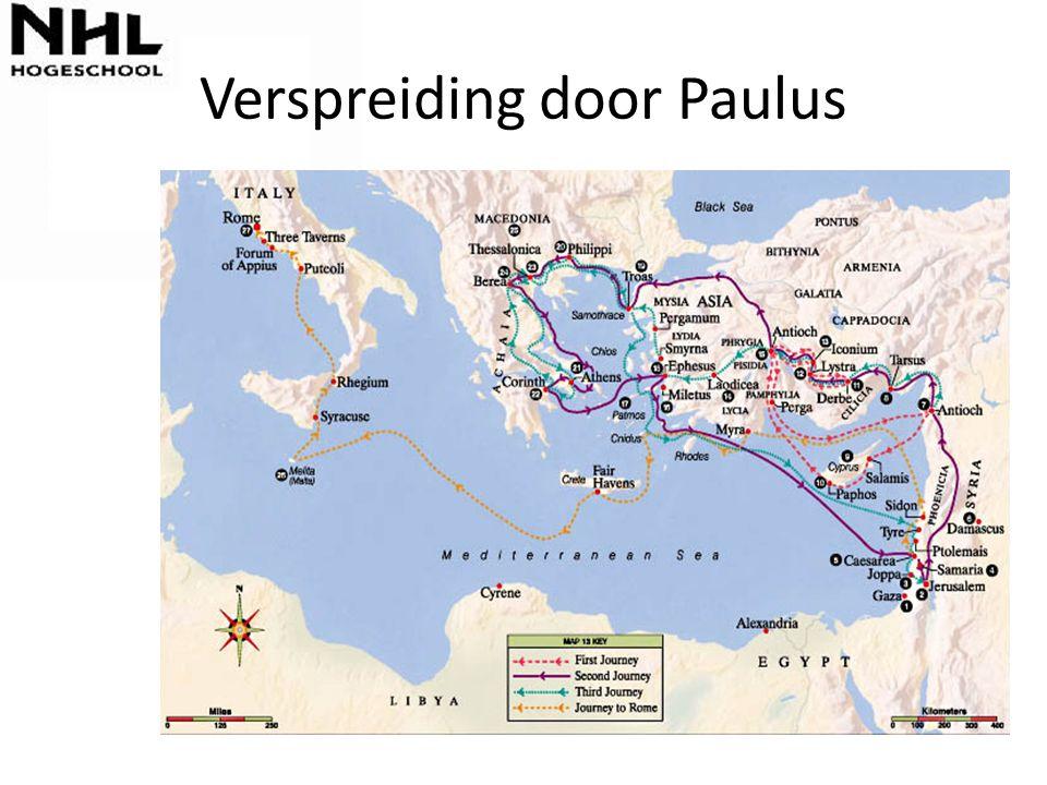 Verspreiding door Paulus