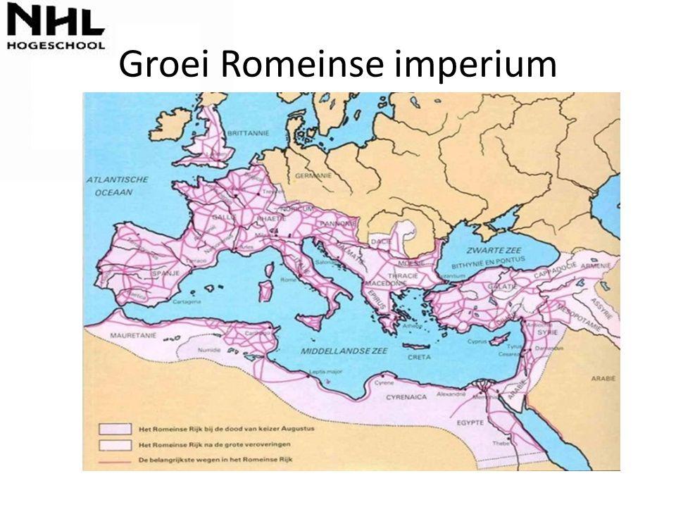 Groei Romeinse imperium