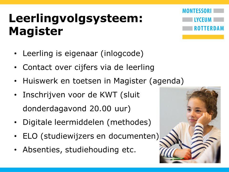 Leerlingvolgsysteem: Magister