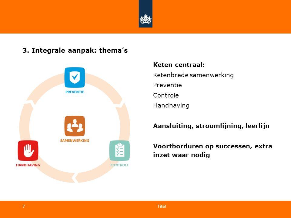 3. Integrale aanpak: thema's