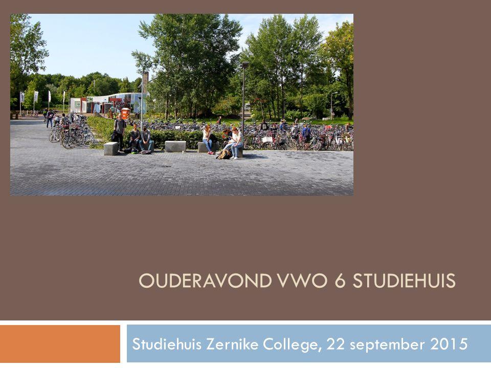 OUDERAVOND vwo 6 studiehuis
