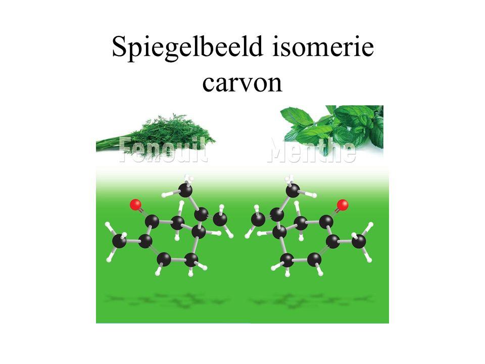 Spiegelbeeld isomerie carvon