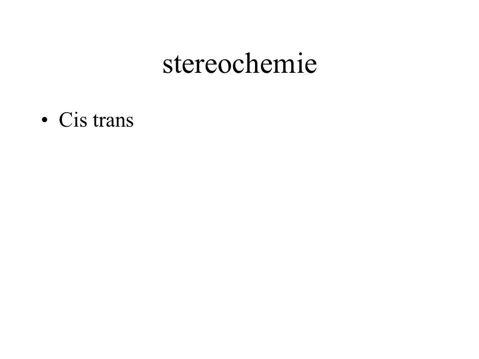 stereochemie Cis trans Spiegelbeeld isomerie