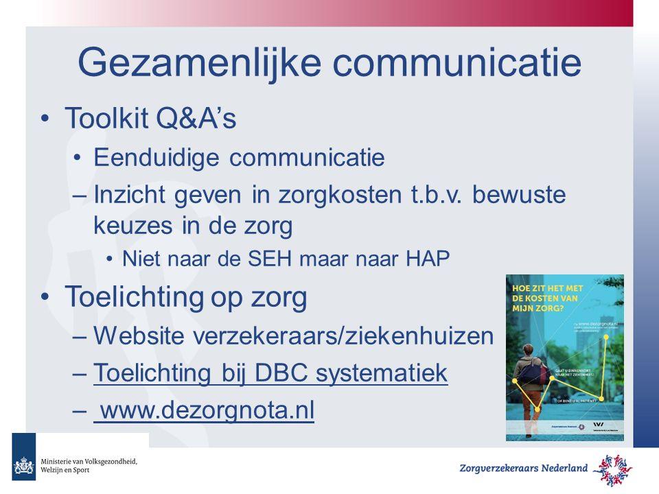 Gezamenlijke communicatie