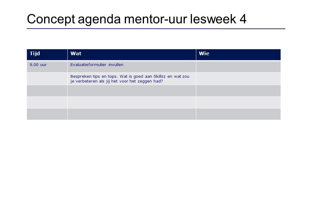 Template feedback - leerlingen