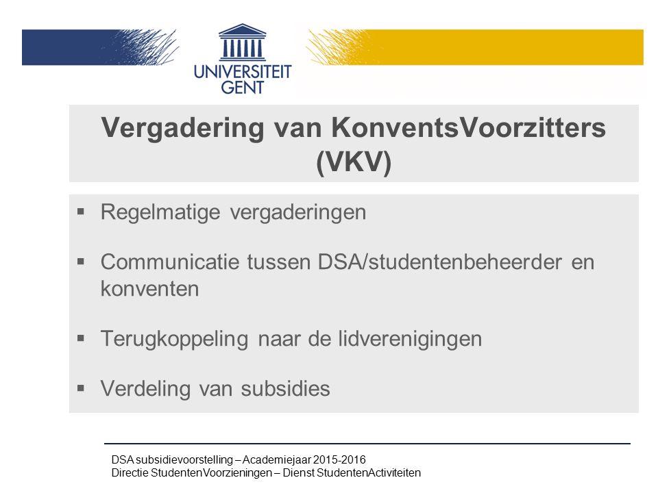 Vergadering van KonventsVoorzitters (VKV)