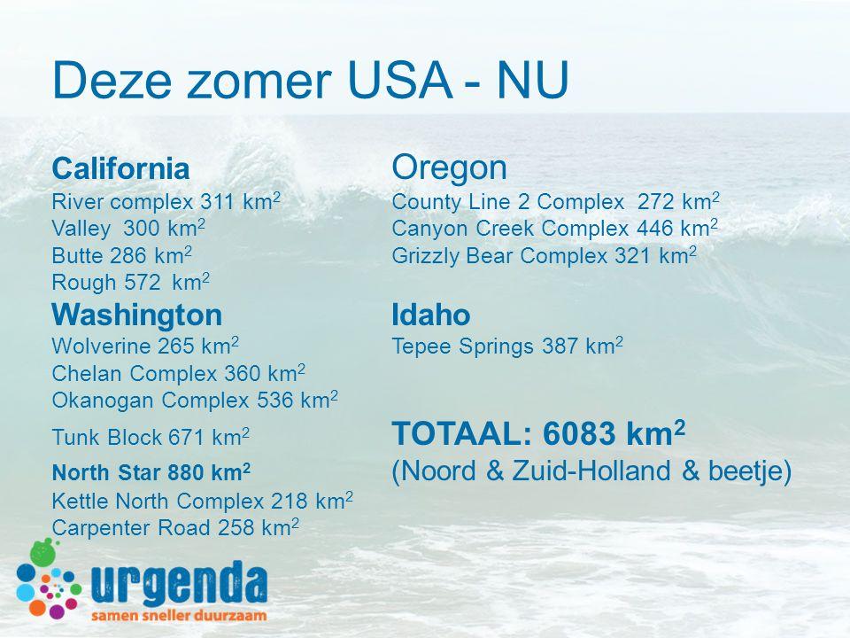Deze zomer USA - NU California Oregon Washington Idaho