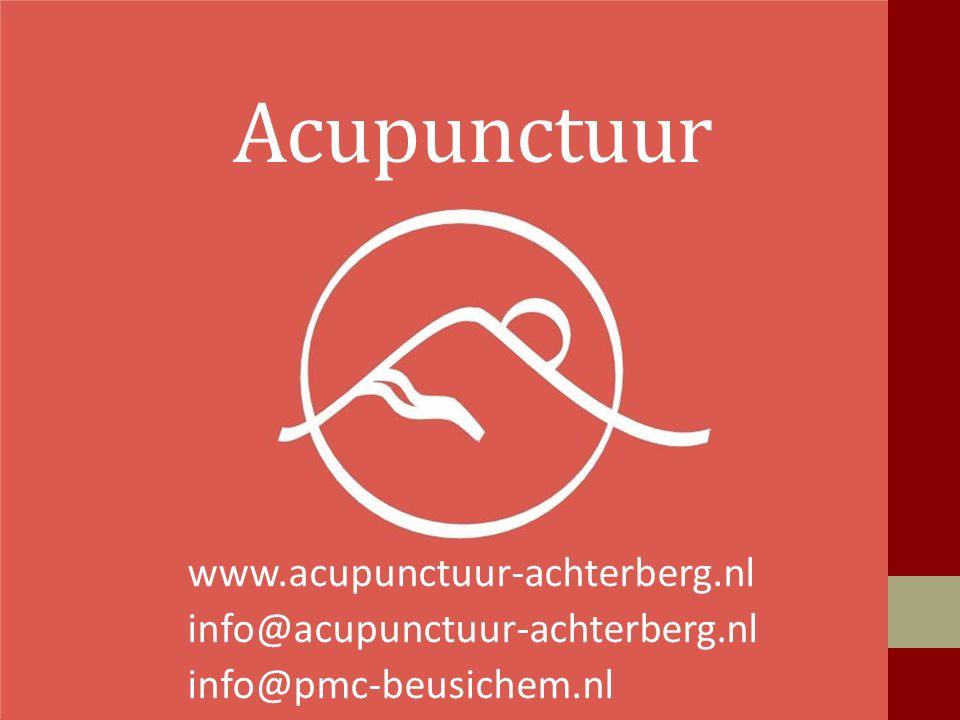 Acupunctuur www.acupunctuur-achterberg.nl