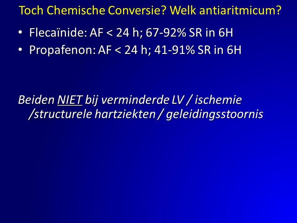 Toch Chemische Conversie Welk antiaritmicum