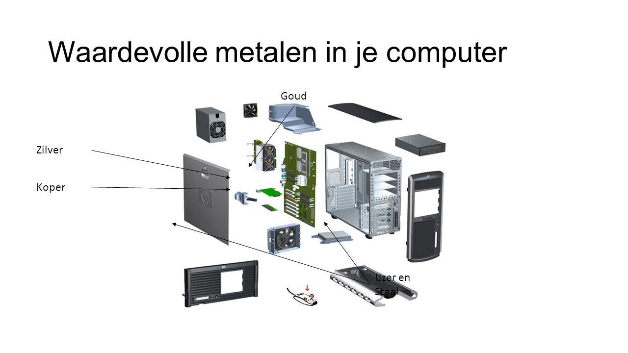 Waardevolle metalen in je computer