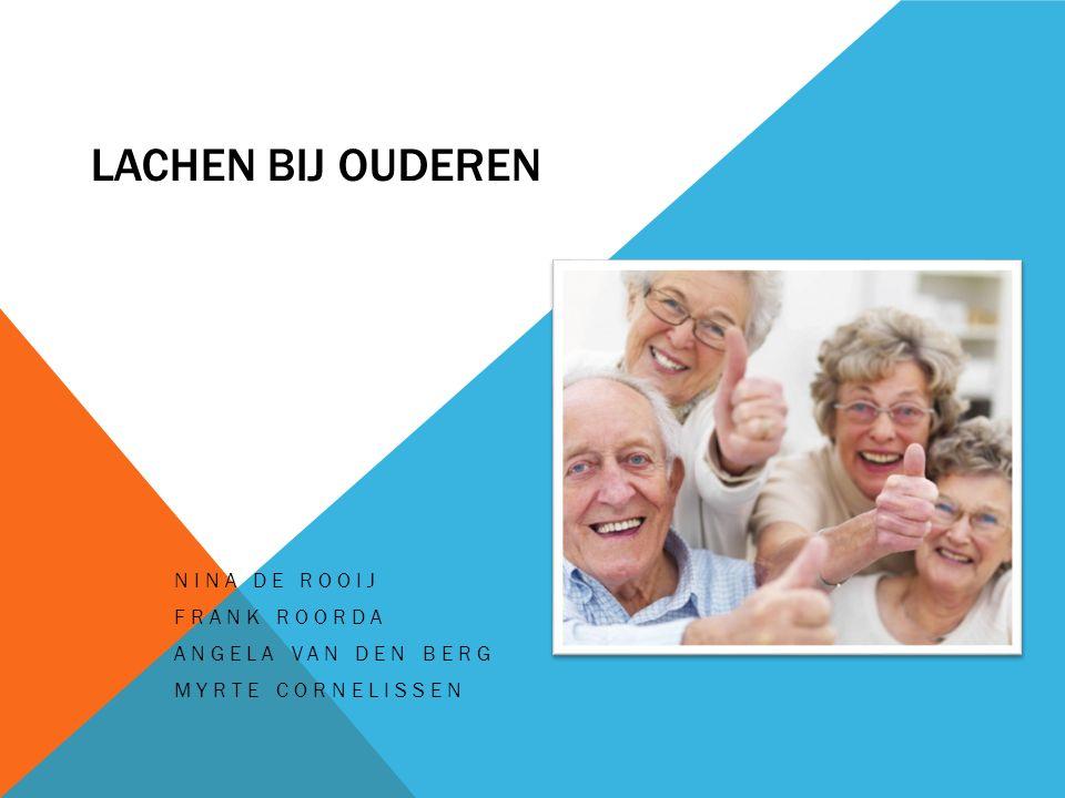 Nina de Rooij Frank Roorda Angela van den Berg Myrte Cornelissen