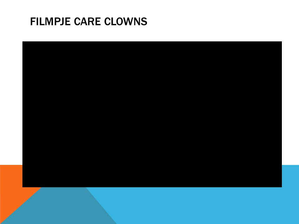 Filmpje Care Clowns