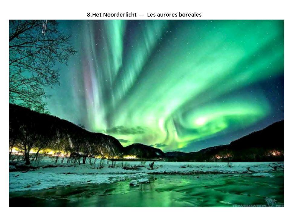 8.Het Noorderlicht --- Les aurores boréales
