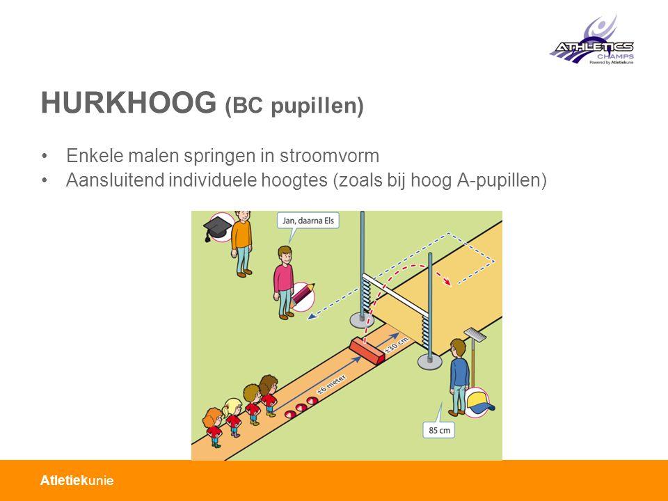 HURKHOOG (BC pupillen)